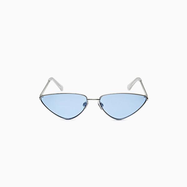 Солнечные очки Stradivarius с голубыми стеклами