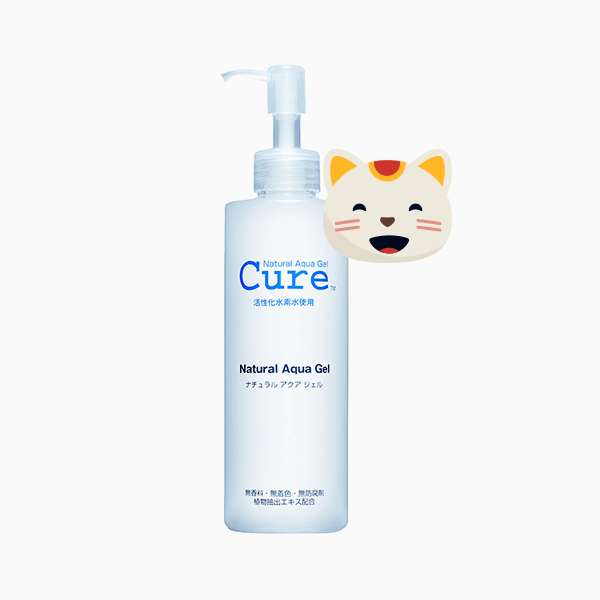 Пилинг-гель Aqua Gel, Cure Natural